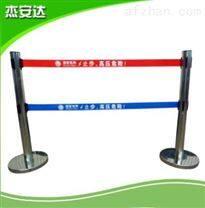 杰安达生产轻质便携式绝缘伸缩围栏 可移动