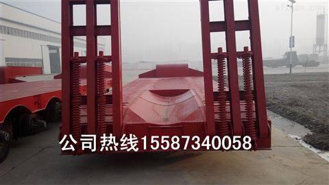 小轮胎低平板挂车载重50吨参数高度90公分