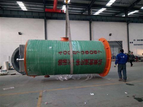 工业 玻璃钢一体化雨水提升泵站 生产厂