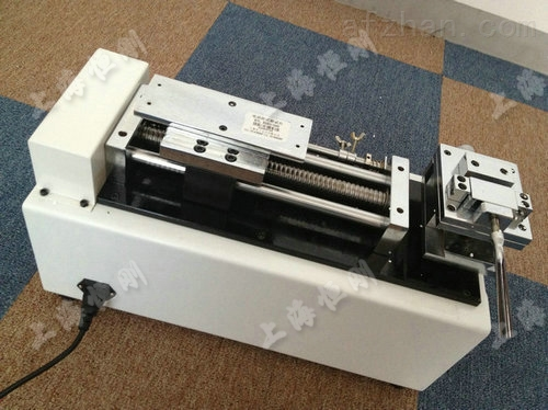 500N电动卧式测试台(0-50KG灯管测力计)
