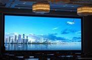 P3酒店大堂大型活动固定安装LED显示屏厂家