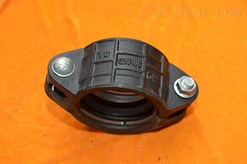 卡箍柔性管接头矿用卡箍规格卡套管接头天津制作厂家