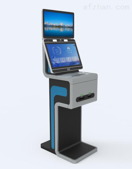 自助登记一体机|立式门禁识别机