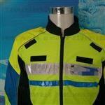 交巡警新款夏季骑警反光服执勤骑行服