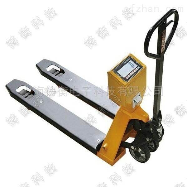 现货供应1000KG的电子叉车秤  带报警叉车电子秤