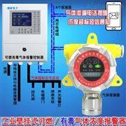 工业罐区有机溶剂气体泄漏报警器,气体泄漏报警装置可以联动风机或关闭电磁阀门吗