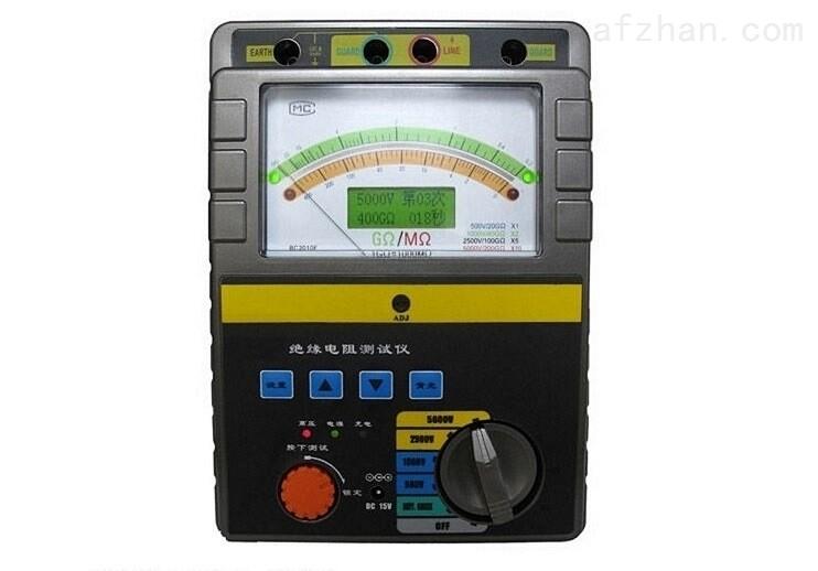 500KV高压绝缘电阻测试仪厂家