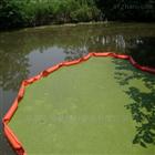 老化PVC围油栏 蓝藻水面漂浮物拦截浮体