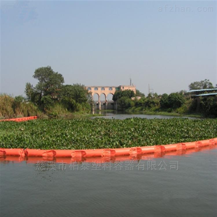 漂浮在水面的垃圾水草拦截浮筒批发