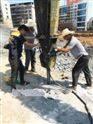 惠州挖地基不能爆破工程急用液压静爆设备