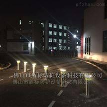 DB北京校园大门口地埋防撞升降杆遥控升降地桩