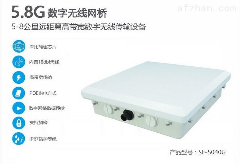 天线一体化数字网桥,电力监控系统