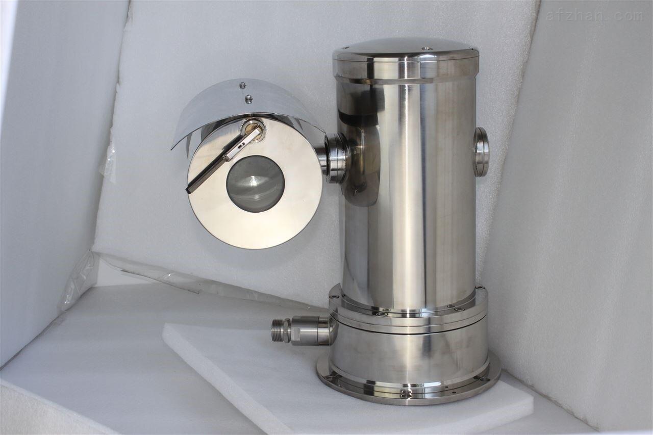 本产品是新一代的防爆监控设备,采用了更为先进的制造工艺,使得产品的质量和性能处于领先地位。该产品可单独应用在具有易燃易爆气体、可燃性粉尘的环境中。视窗采用钢化玻璃制作,在坚固耐用的同时,保证画质清晰。精密电机驱动,反应灵敏,运转平稳,精度偏差少于0.1度,在任何速度下图像无抖动,无监视盲区;支持断电状态记忆功能;上电后自动回到断电前的云台和镜头状态支持防雷、防浪涌、防突波