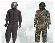 北京彩彈防護服圖片