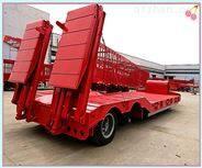 抽拉式低平板半挂车新型槽罐车尺寸价格