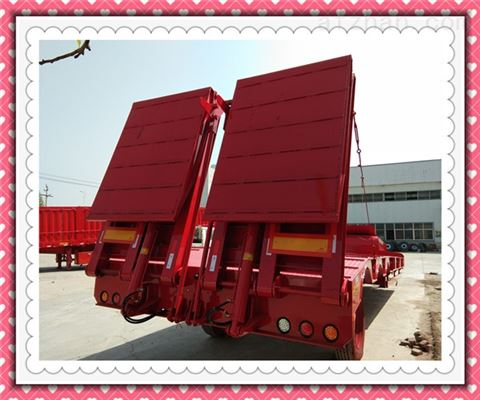 重型低平板拖挂车营运车辆技术管理规定
