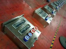 BXX-T304/316不锈钢三防检修箱带工业插座