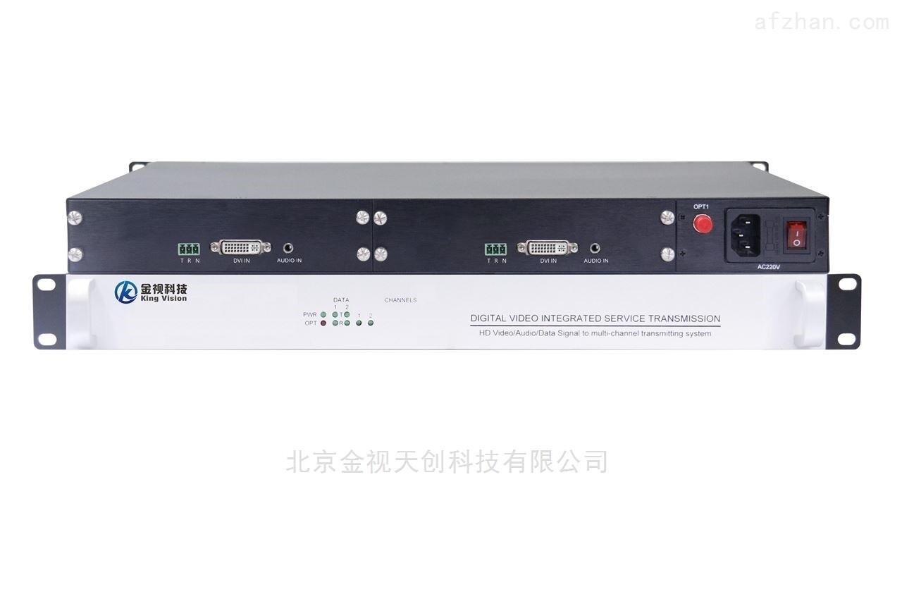 金视科技2路DVI光端机