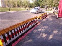 安全防護路障機/衡陽液壓翻板智能升降路障