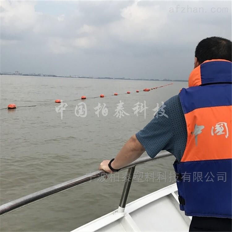 肥西县水源地拦船警示浮球