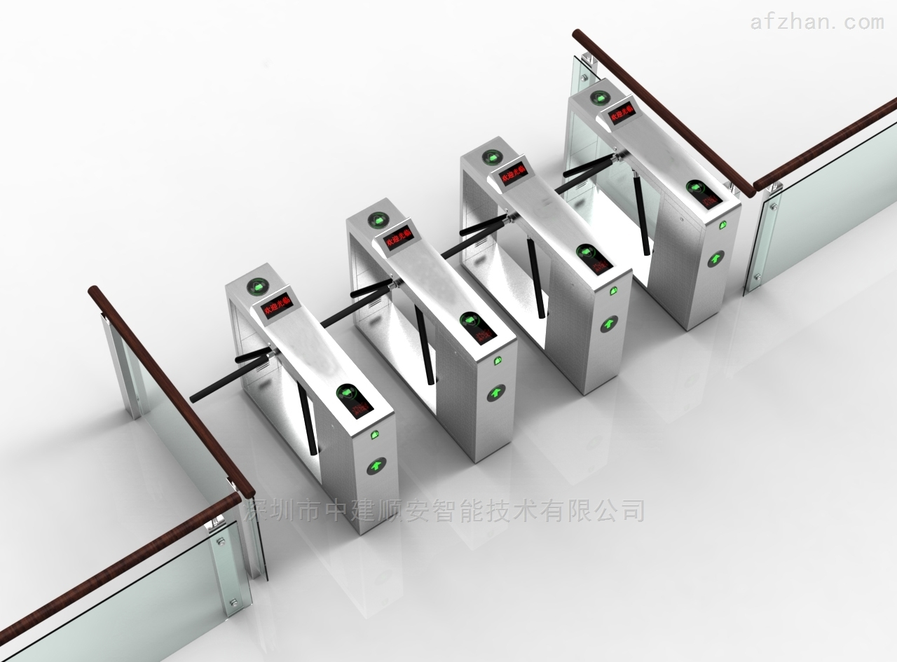 ESD防靜電三輥閘擺閘