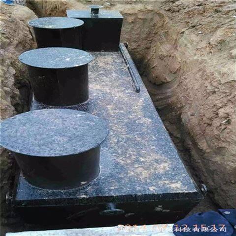 农村生活污水处理设备操作流程
