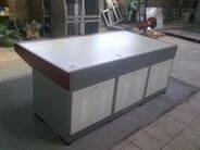 控制平台工作调度操作台九联钢面机柜拼装