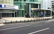 青海西宁全主动挡车器景区不锈钢升降柱