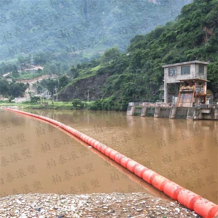 水电站拦污排 拦污栅浮漂桶厂家