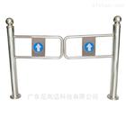 超市手动立柱单向摆闸|不锈钢柱式自动回弹匝门机