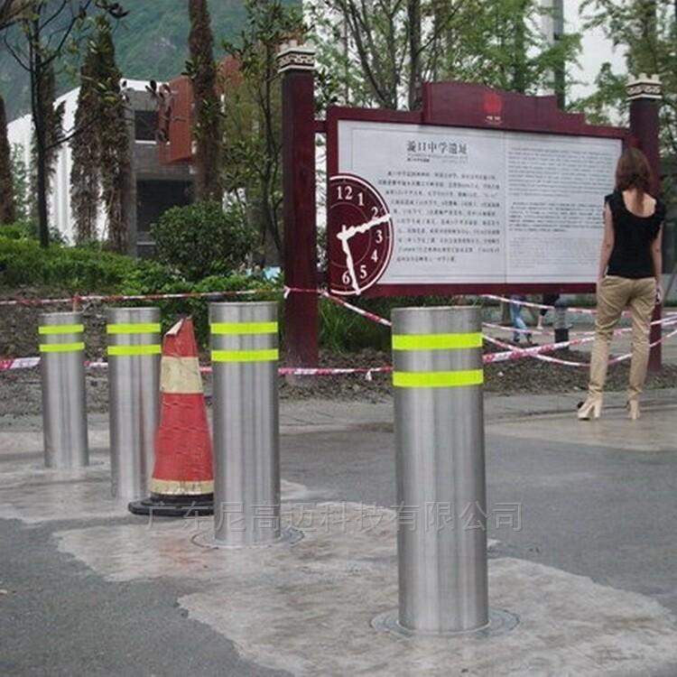广东步行街防冲撞闸挡