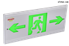 博朗耐智能疏散應急照明疏散標志指示燈