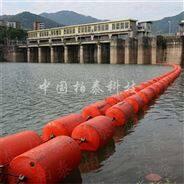 塑料的拦漂浮筒 卓尼县水电站浮筒式拦污排