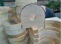 耐高压防腐管道木托性能