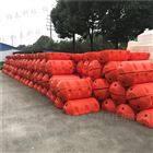 疏浚专用塑胶浮筒,水面管道施工浮体