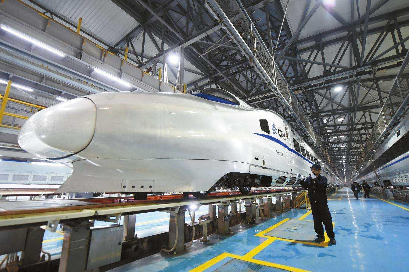 深方科技高带宽室外网桥成功用于动车组检修系统