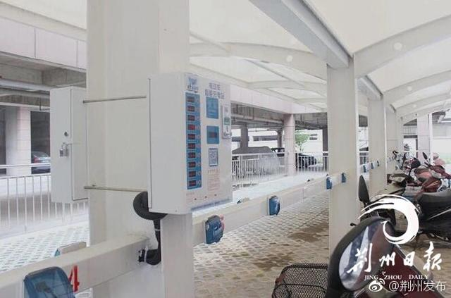 尚亿源智能充电站入荆州 开发区已建成投入使用