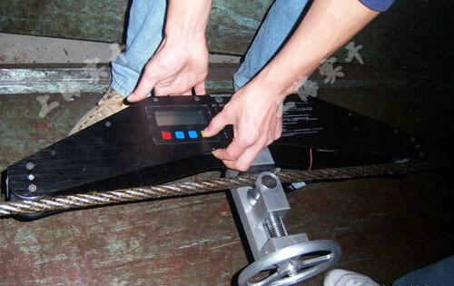 斜拉桥索张力测试仪图片
