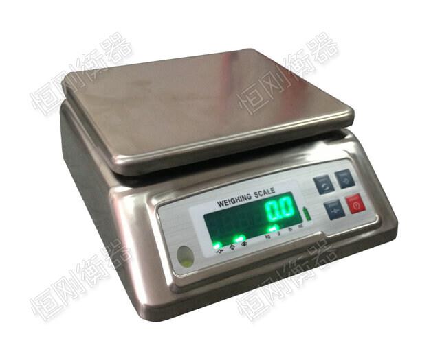 不锈钢电子桌秤