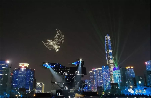 海能达:深圳改革开放40周年庆典守护者