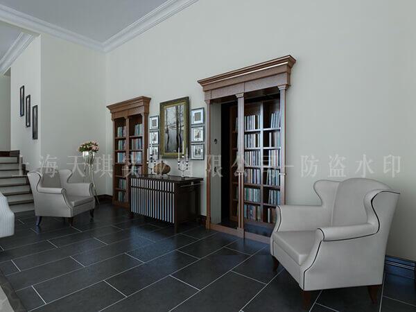 书架密室门