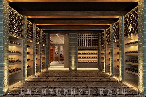 酒柜密室门