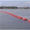 成都水库拦污浮筒,河道治理垃圾拦截浮体